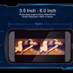 Физические размеры телефона, который можно установить в VR BOX 2