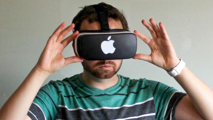 Шлем виртуальной реальности от Apple