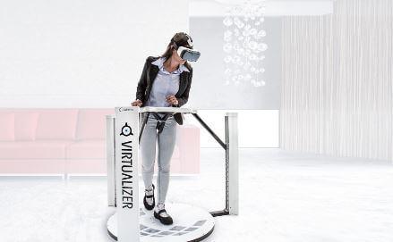 Платформа виртуальной реальности Cyberith Virtualizer