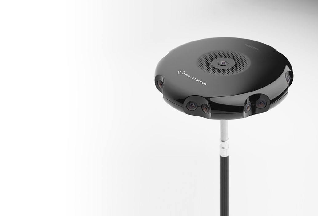 Камера 360 для виртуальной реальности Project Beyond