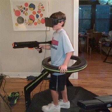 Платформа виртуальной реальности Virtuix Omni