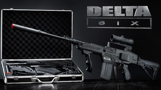 Автомат для виртуальной реальности Delta Six