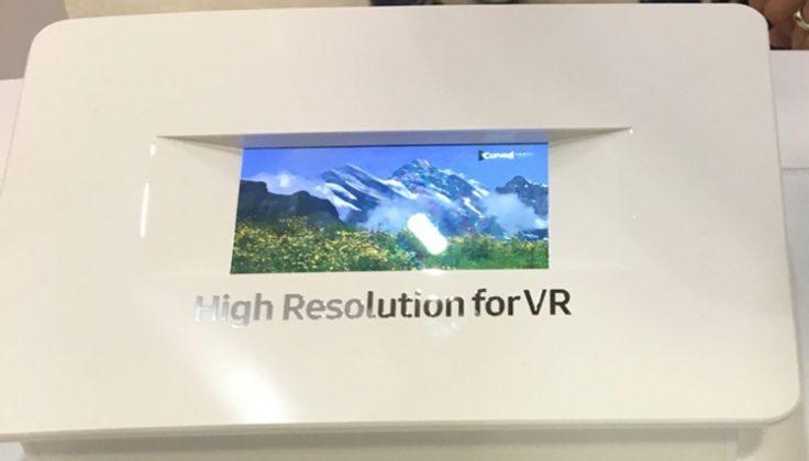 Презентация новинки от Samsung экран 4К Ultra HD 5,5 дюймов