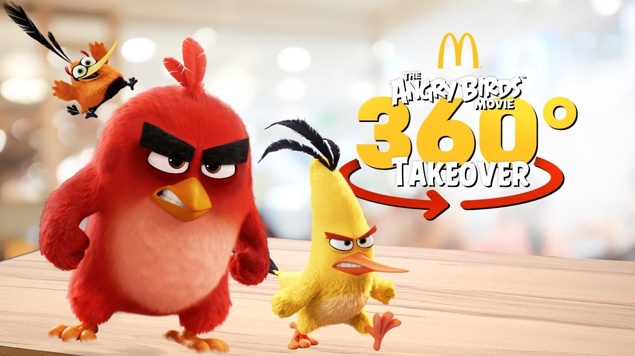McDonald's выпустили VR-ролик с Angry Birds