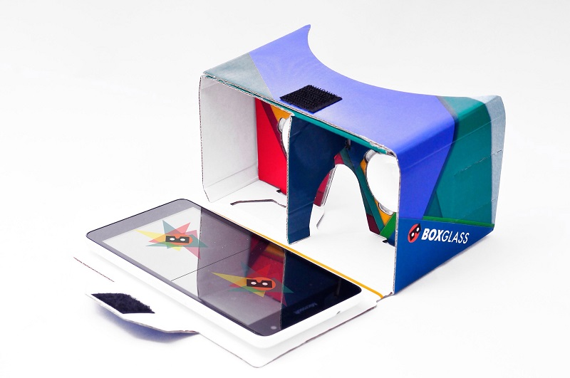 Еще более доступная виртуальная реальность от Boxglass