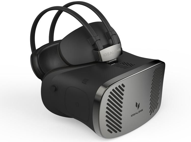 Idealens K2 – автономный шлем-VR новинка среди разработок для виртуальной реальности