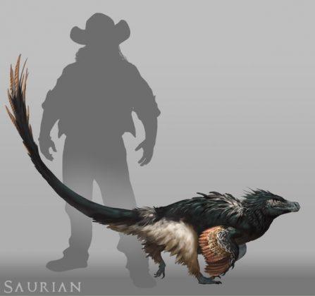 Ожидаемый VR-симулятор динозавров Saurian