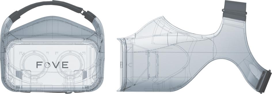 Новый дизайн vr-шлема Fove