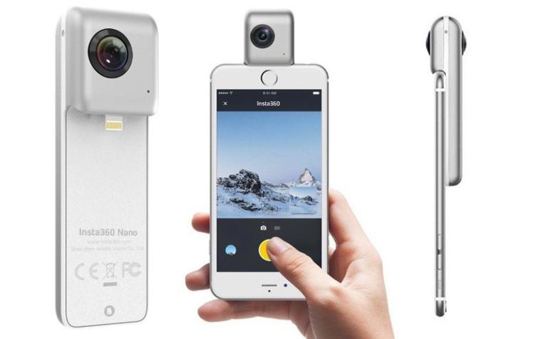 Видеокамера для создания VR роликов Insta360 Nano