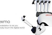 Тактильная отдача с помощью VR-перчатки DEXMO // arnext.ruТактильная отдача с помощью VR-перчатки DEXMO // arnext.ru