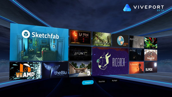 Viveport от HTC — магазин контента для виртуальной реальности