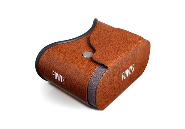 Картонный vr-шлем Powis PopUp // powisvr.com