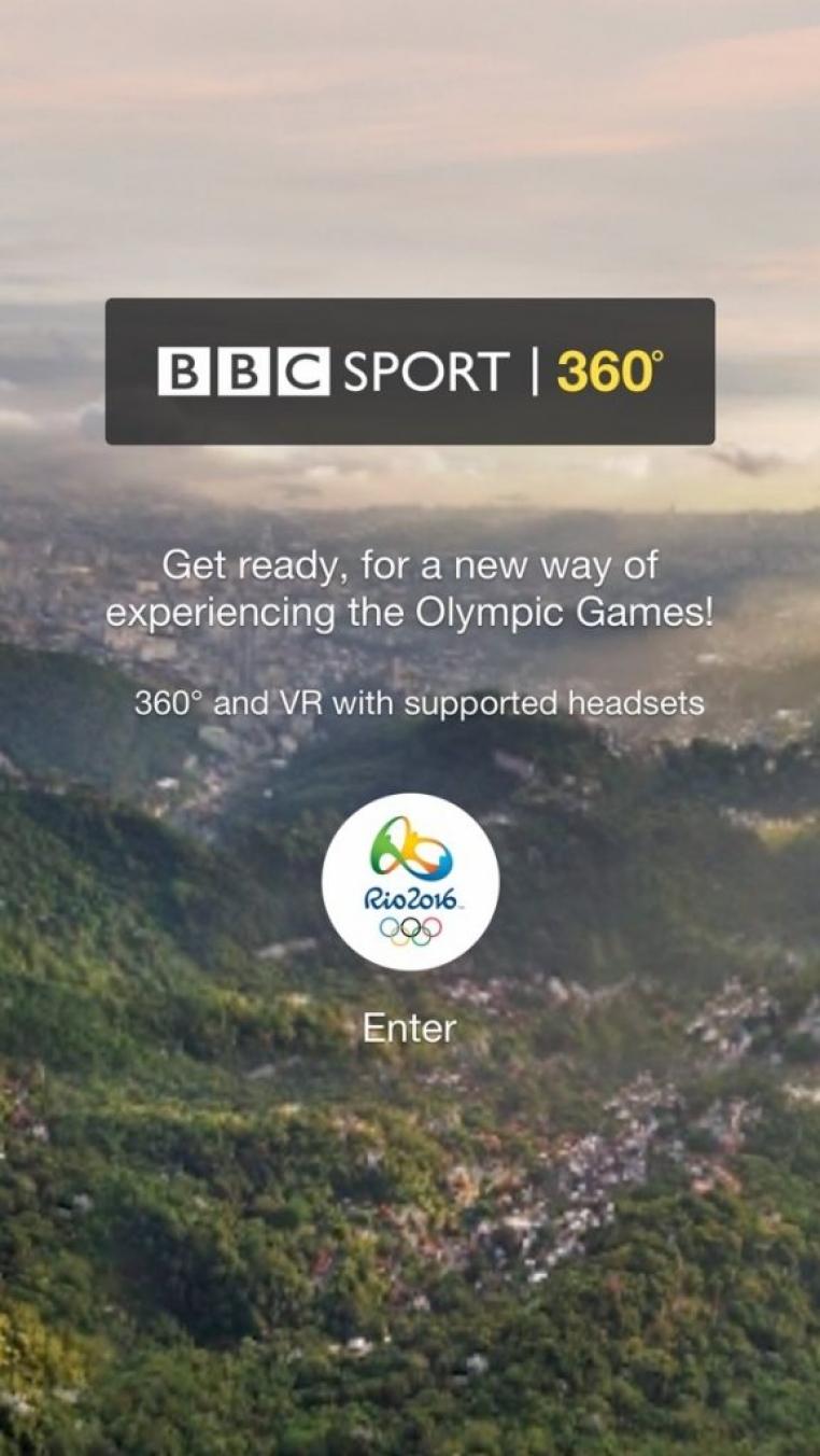 ВВС будет транслировать Олимпиаду в формате виртуальной реальности