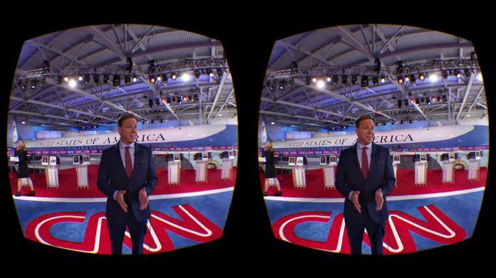Телеканал CNN запустил виртуальную реальность // roadtovr.com