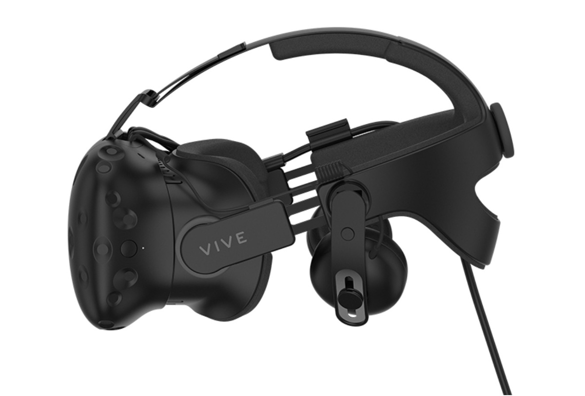 Vive Deluxe Audio Strap поступит в продажу 6 июня // Pocket-lint.com