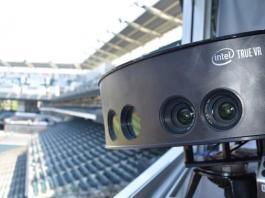 Камера Intel TrueVR на бейсбольном стадионе // variety.com